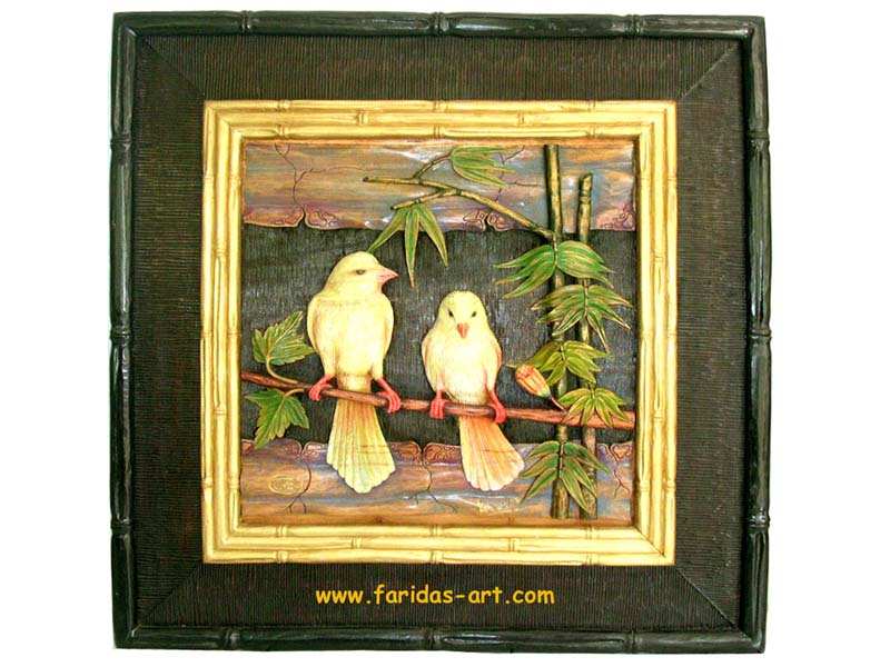 Burung - Sepasang Kenari