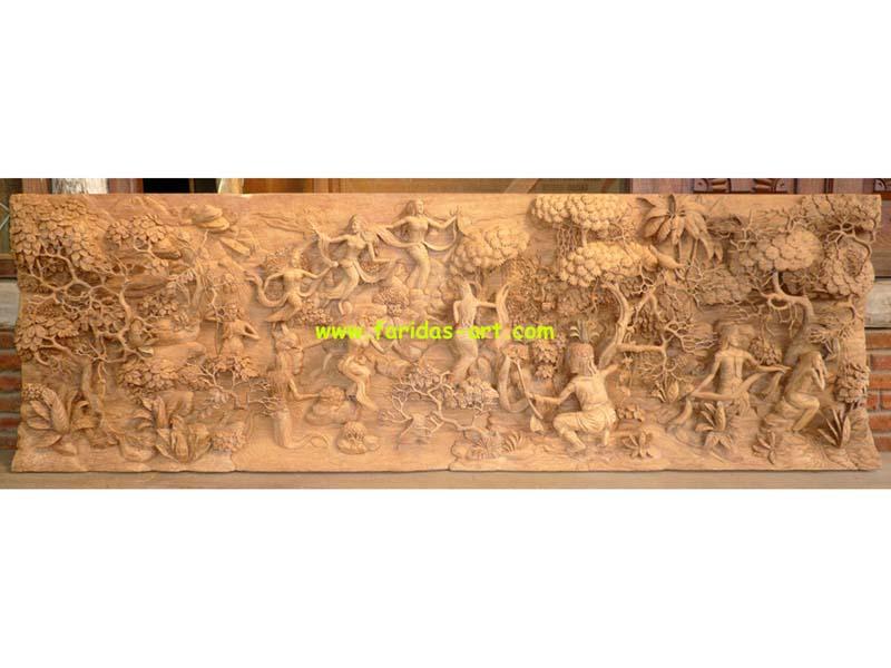 Meja Makan - Jaka Tarub & 7 Bidadari