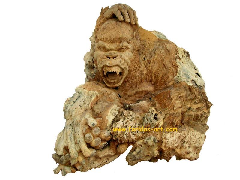 Monyet - Gorila Garuk2