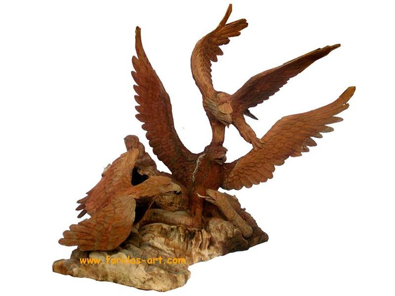 Burung - 3 Elang & Ular