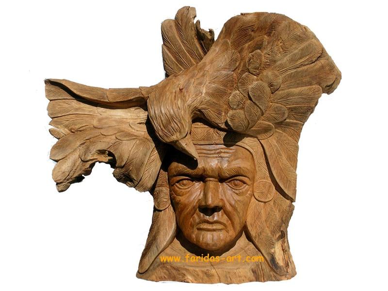 Topeng - Indian & elang