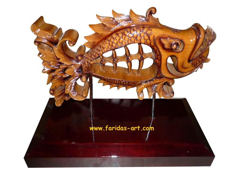 Hiasan Meja - Ikan Koki