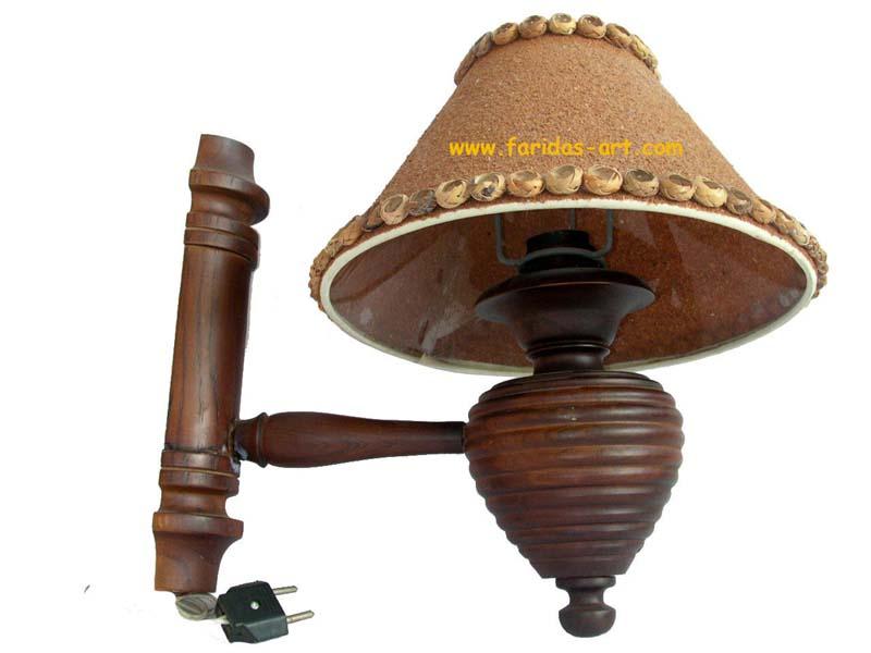 Lampu Tempel - Spiral
