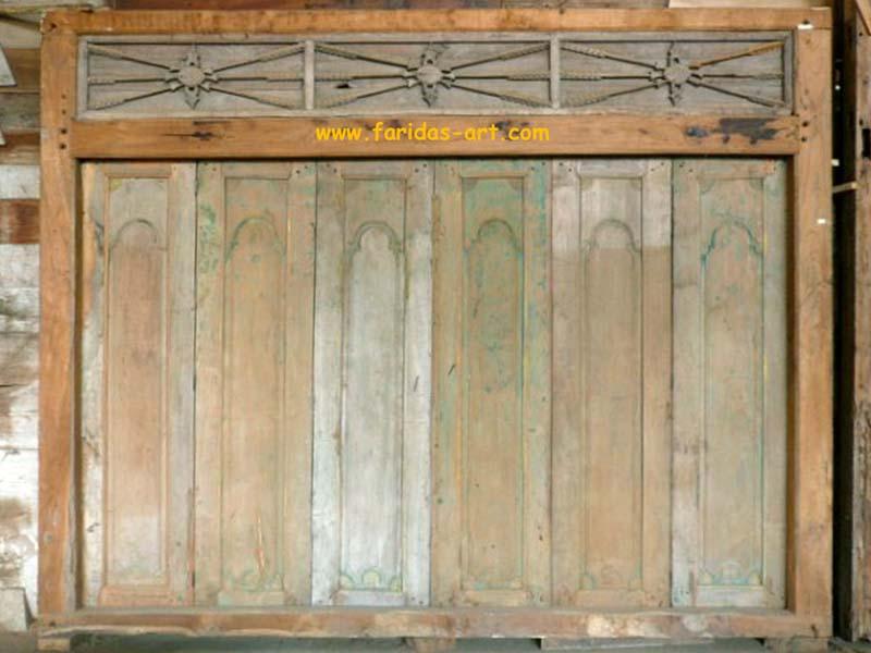 Gebyok Kuno Antik 3 (6 Pintu)