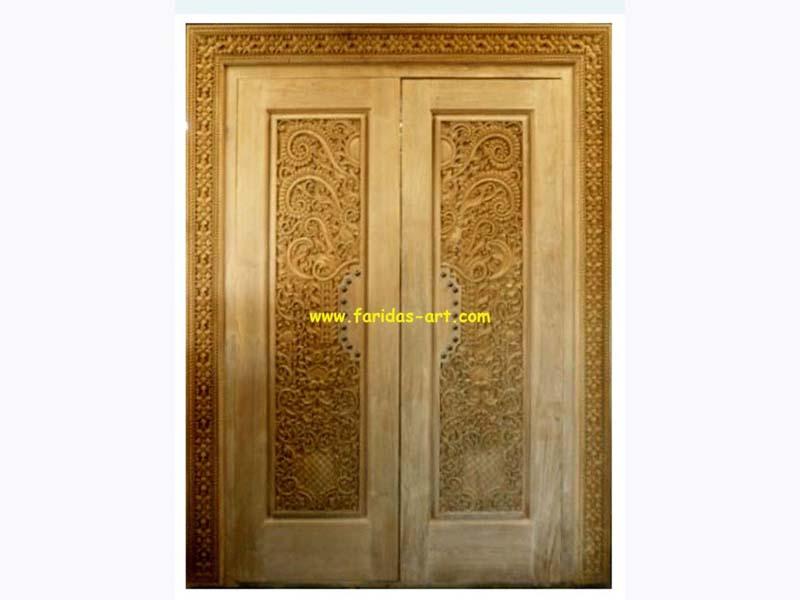 Pintu Utama - Ukir (Keraton)