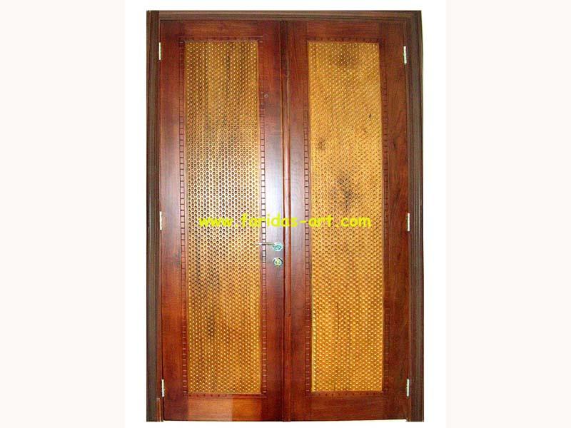 Pintu Utama - Motif (Ceplok)