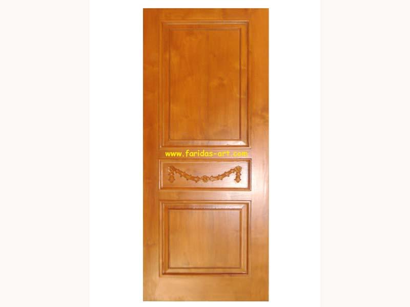 Pintu Tunggal - Ukir (Selendang)