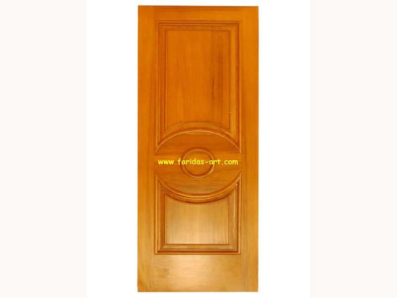 Pintu Tunggal - Motif (Mata)