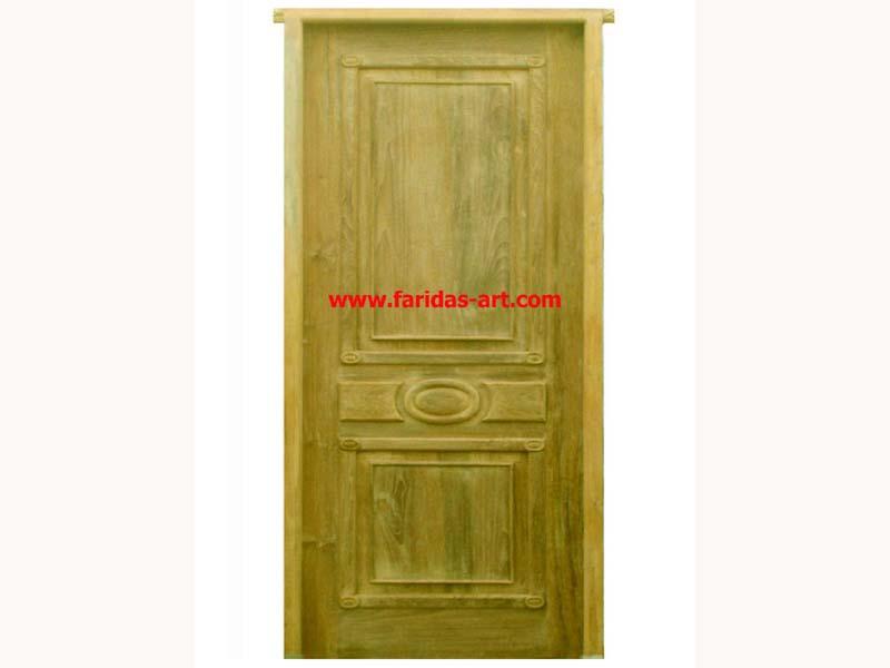 Pintu Tunggal - Motif (Kancing)