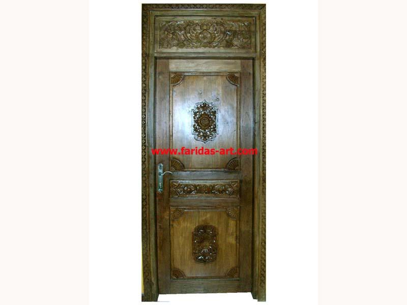 Pintu Tunggal - Antik (Kipas)