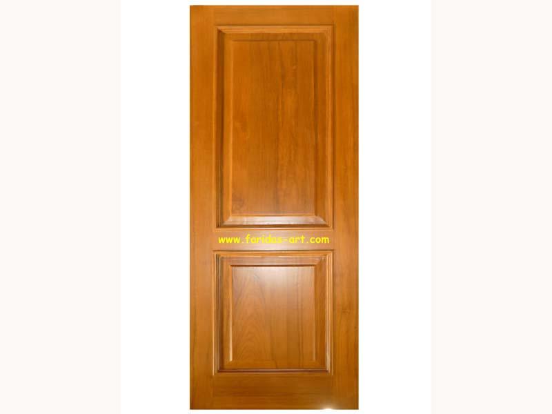 Pintu Tunggal - Polos (2 panel)