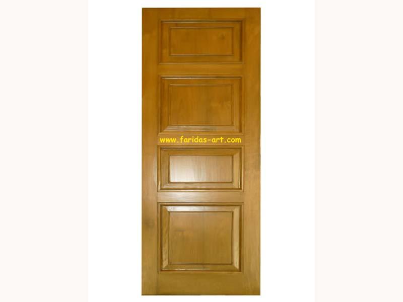 Pintu Tunggal - Polos (4 panel)