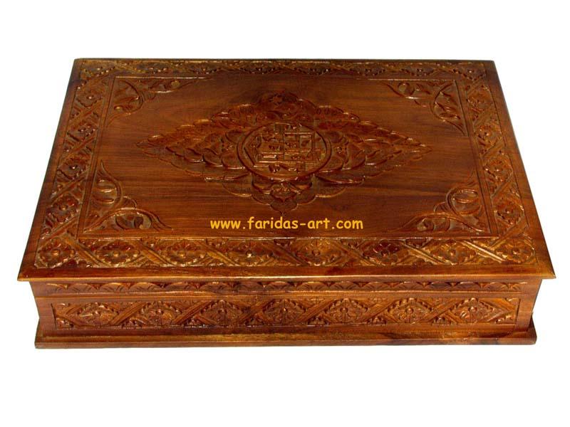 Kotak Qur'an - Ukir