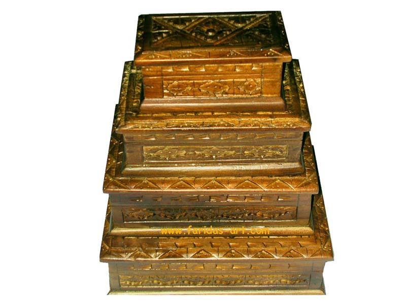 Kotak Perhiasan - Bujur Sangkar