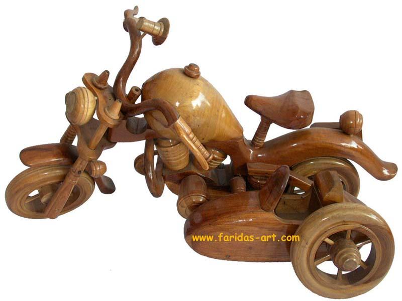 Harley Davidson - Sadel Pendek (Roda 3)