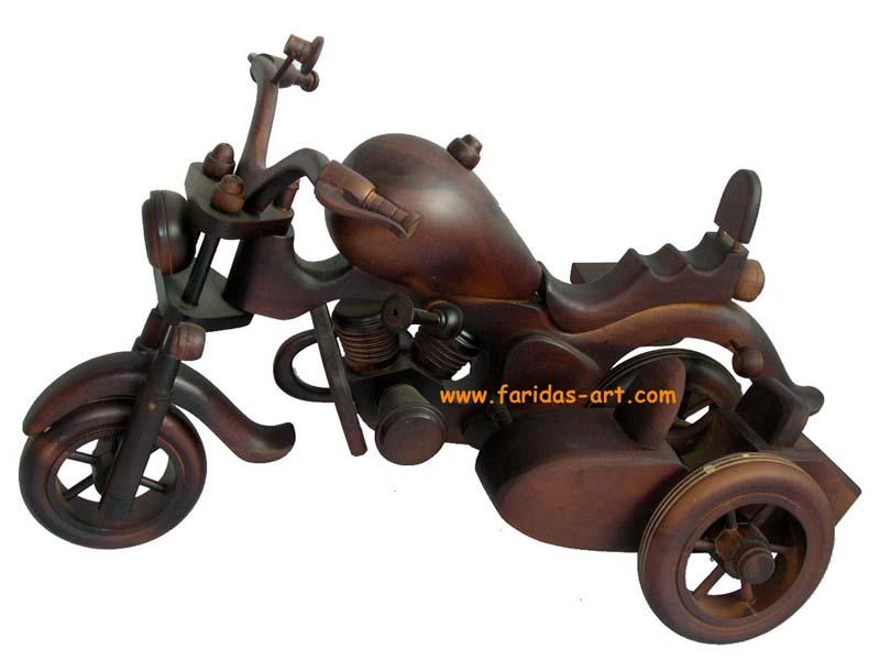 Harley Davidson - Sadel Panjang (Roda 3)