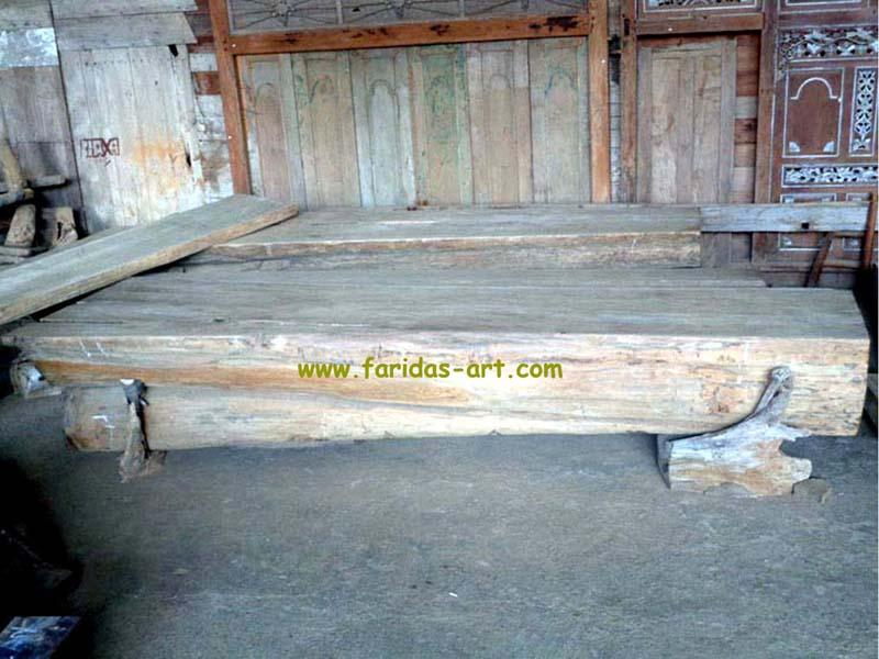 Meja Serbaguna - Solid (Log Belah) 5