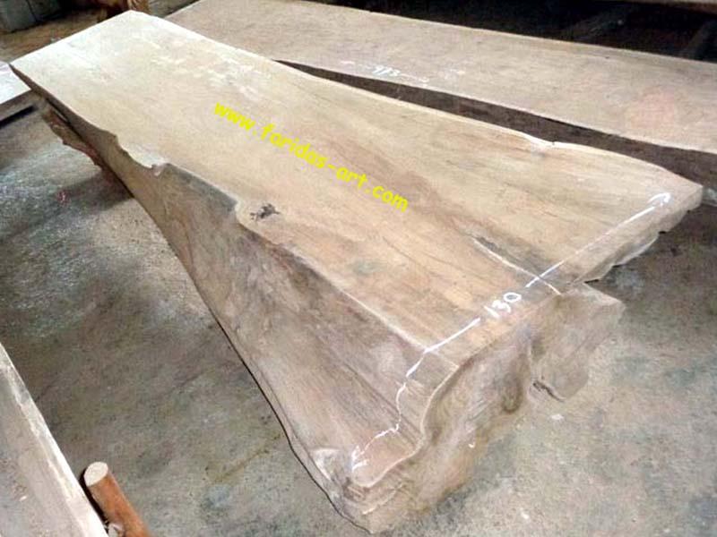 Meja Serbaguna - Solid (Log Belah) 3