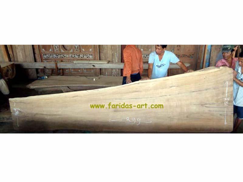 Kayu Jati - Solid (Log Belah)-1