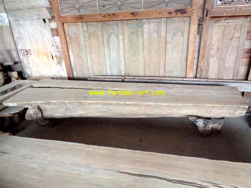 Meja Serbaguna - Solid (Log Belah) 4
