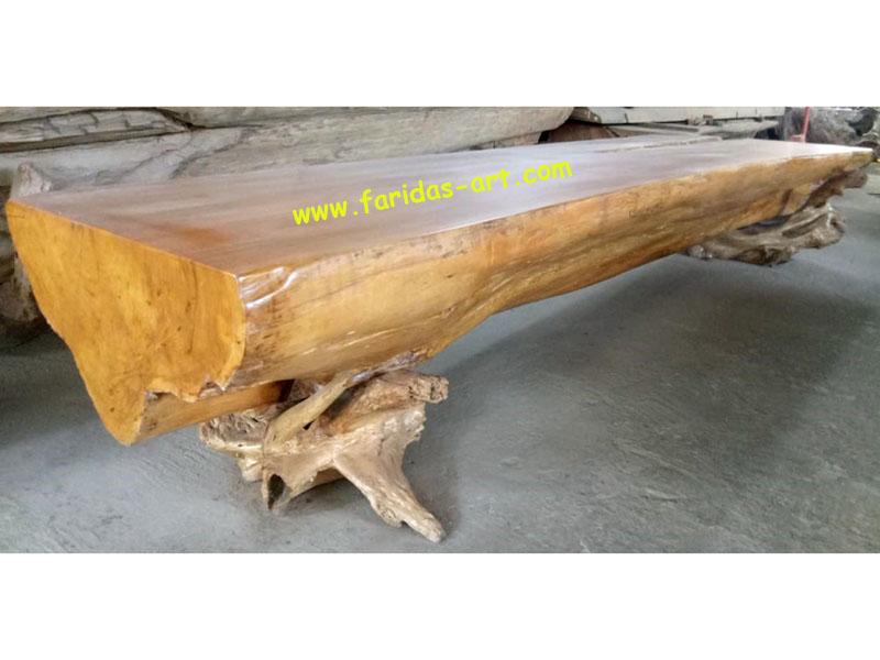 Meja Serbaguna - Solid (Log Belah) 2