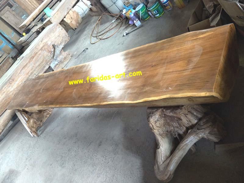 Meja Serbaguna - Solid (Log Belah) 1