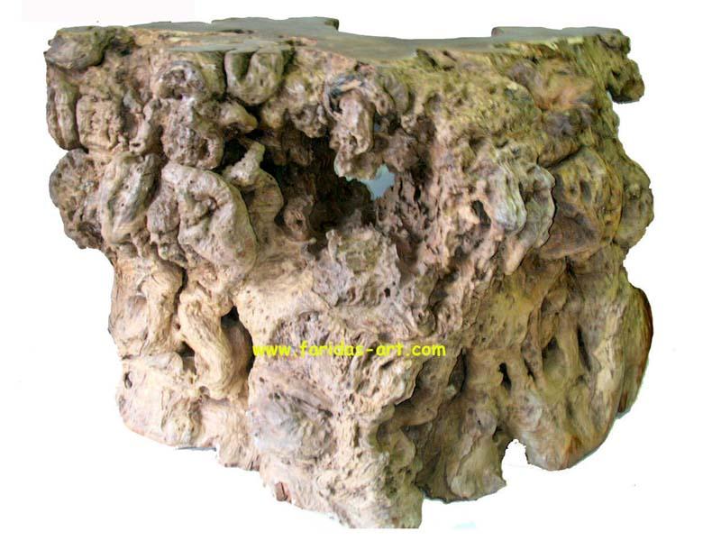 Meja Bar - Fosil Jati  'Gembol'